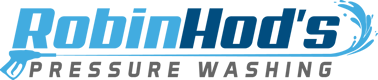 Robin Hod's Pressure Washing Logo